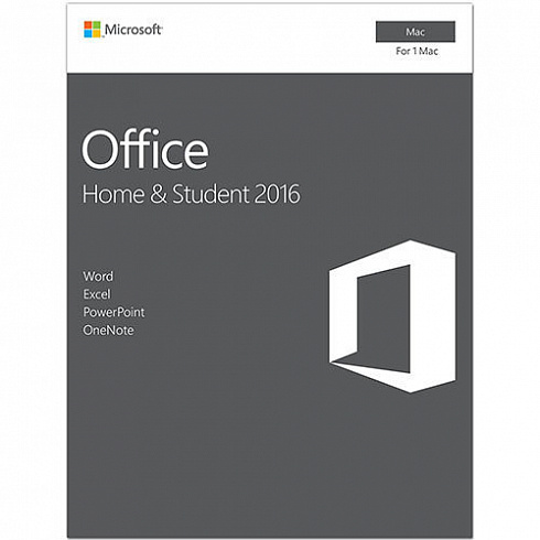 Microsoft Office 2016 Home and Student Mac (x32/x64) All Lng ESD