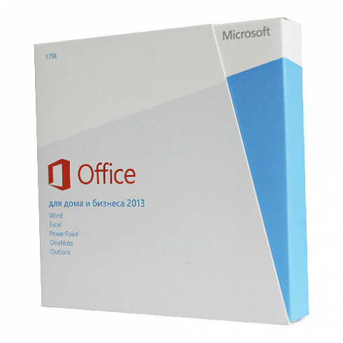 Microsoft Office 2013 Home and Business (x32/x64) RU BOX